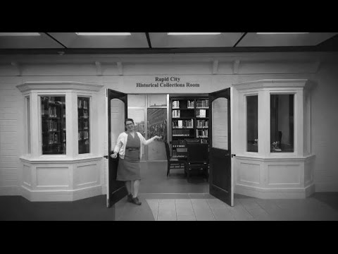 Local History Room at Rapid City Public Library