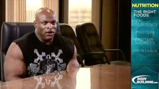 Training with Mr Olympia Ronnie Coleman