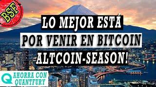 Bitcoin: IMPARABLE! Alcista como en 2017? Acciones: nueva sección! Invitado especial...