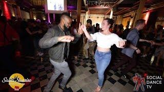 Onassaka & Jade Madert - Salsa Social Dancing | Salsa Sunrise Party 2019