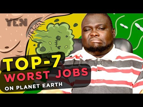 Top 7 Worst Jobs in the World in 2018 | Yen.co.gh