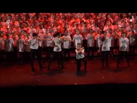 Nous sommes la révolte-extrait de brodway academy-chorale des Yvelines
