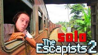 Solo Cougar Creek Railroad Escape! The Escapists 2