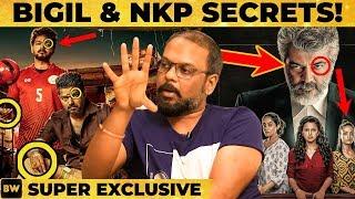 Bigil & Nerkonda Paarvai Unknown Secrets: Ajith & Vijay's Reactions to FL - Poster Designer Reveals