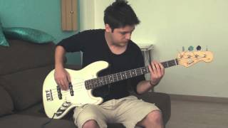 Black Eyed Peas Lets Get it Started bass cover