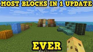 "ALL Of The NEW Blocks In Minecraft 1.13's ""Update Aquatic"""
