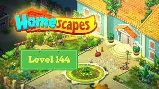 Homescapes Level 144 - How to complete Level 144 on Homescapes