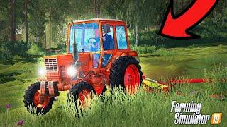  Czerwona Bestia  MTZ  Prosto z Rosji | Farming Simulator 19