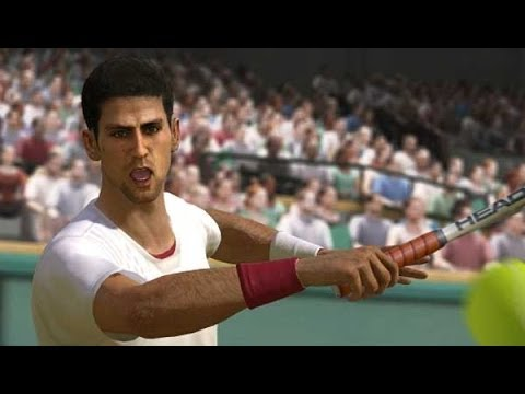 Roger Federer vs Novak Djokovic EA Grand Slam Tennis 2 (Wimbledon 2014 prediction)