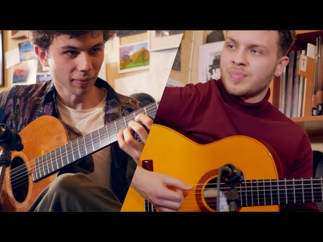 Antoine Boyer & Samuelito - Live @La Guitarreria - Guajira do Brasil (dedicated to Yamandu Costa)