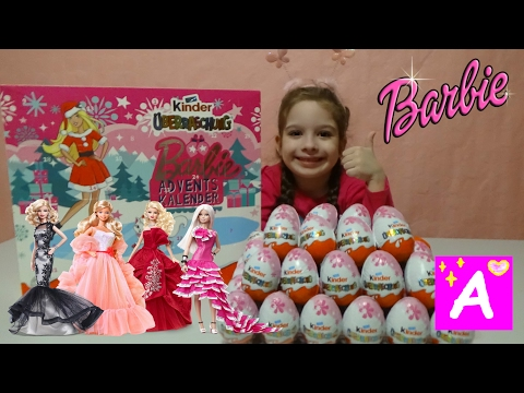 BARBIE NEW COLLECTION of kinder surprise eggs video for kids Барби Киндер Сюрприз