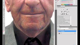 Убираем щитину в Photoshop [Фотошопе]