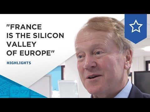 """John Chambers, Executive Chairman of Cisco : """"France is Silicon Valley of Europe"""""""