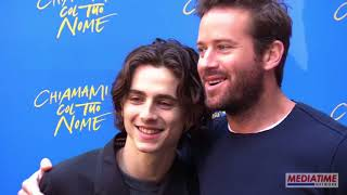 Armie Hammer & Timothée Chalamet cute moments (Part 7)
