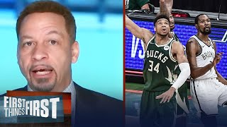 Right now, Giannis deserves the crown over Kevin Durant —Broussard | NBA | FIRST THINGS FIRST