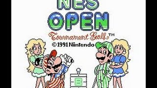 Review of NES Open Tournement Golf for the 3DS by Protomario