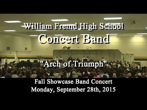 """Concert Band - """"Arch of Triumph"""""""