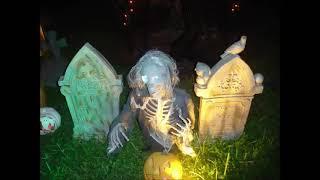 halloween yard haunt 2012