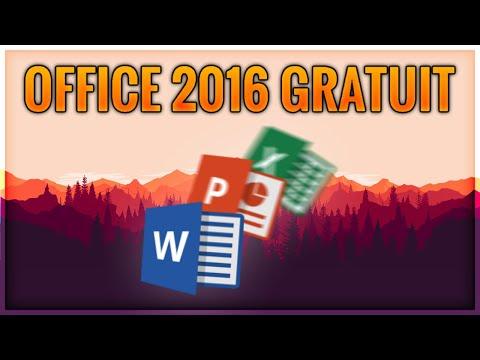 COMMENT OBTENIR OFFICE 2016 GRATUITEMENT (Toujours Fonctionnel)