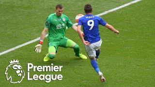 Jamie Vardy's second goal makes it 3-0 to Leicester City   Premier League   NBC Sports