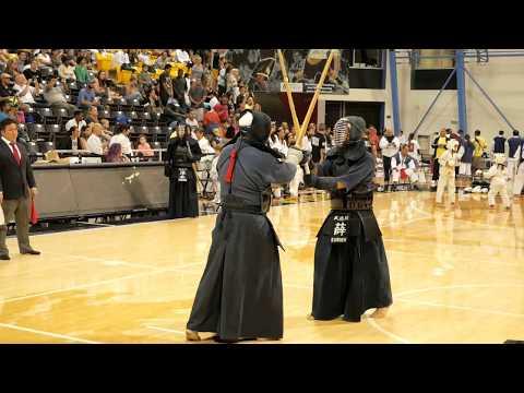 Kendo 2017 Nikkei Games 4 Dan Division: Semi Finals 1