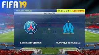 FIFA 19 - Paris Saint Germain vs. Olympique Marseille @ Parc des Princes