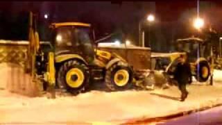 Уборка снега. Или как обмануть ГЛОНАСС / Snow cleaning in Russia v2