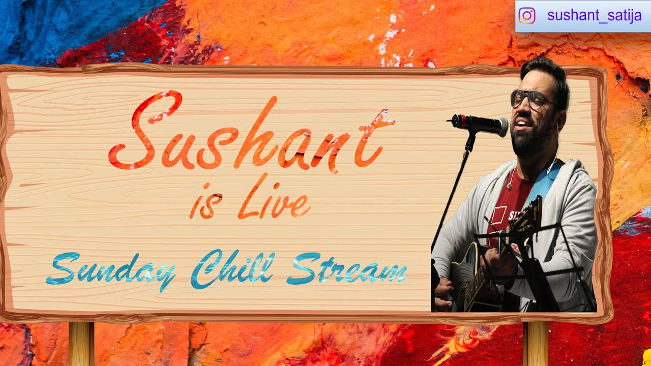 Sunday night live with Sushant Satija !join !dc !insta