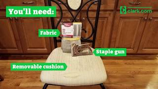 DIY furniture savings: How to reupholster seat cushions
