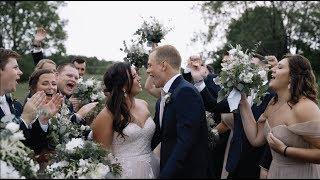 High school sweethearts get married! Katt + Alex : Lindley Farmstead @ Chatham Hills | Westfield, IN