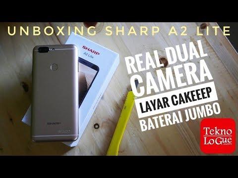 Sharp A2 Lite - Real Dual Kamera Dan Layar Aduhai [unboxing]