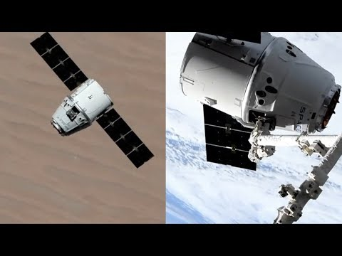 SpaceX CRS-17: Dragon capture