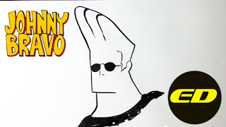 Drawing Johnny Bravo - Easy Drawings