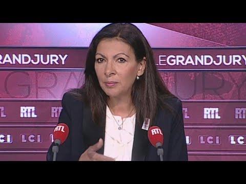 """Anne Hidalgo, invitée du """"Grand Jury"""" dimanche 8 octobre"""