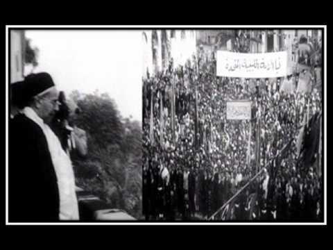 الملك محمد ادريس السنوسي .. يعلن استقلال ليبيا