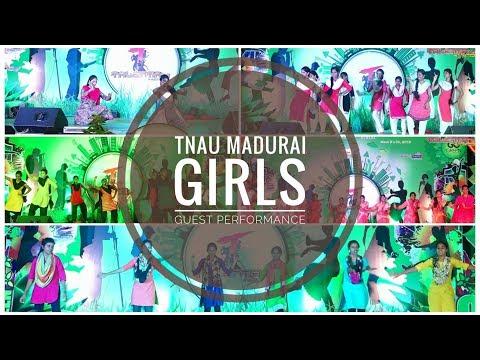 MADURAI (TNAU) GIRLS GUEST PERFORMANCE | TALENTIA2018
