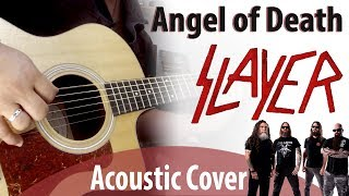 Angel of Death - Slayer (Acoustic Cover w/ Solos)
