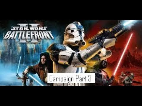 Star Wars Battlefront 2 (2005) Campaign Part 3: Battle Over Coruscant (Xbox One)