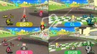 2NE1과 김갑수씨의 Wii 플레이 영상 1
