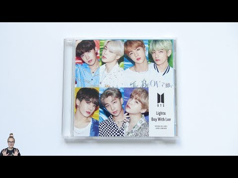 Unboxing BTS 10th Japanese Single Album Lights/Boy With Luv [Fanclub Edition] Mp3