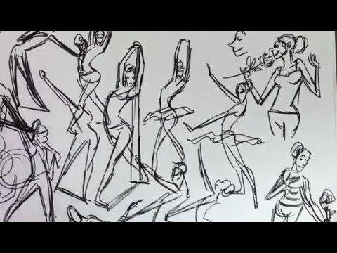 Matt Jones gesture drawing #3