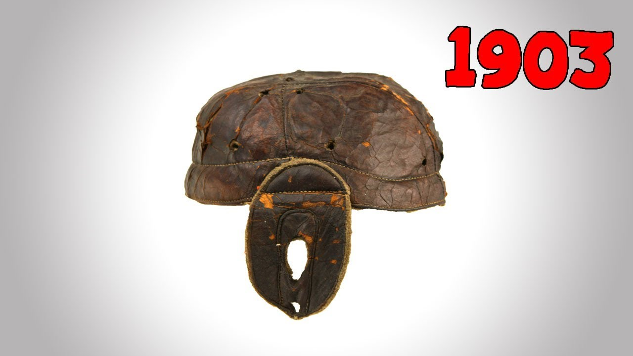 The Evolution Of American Football Helmets Youtube
