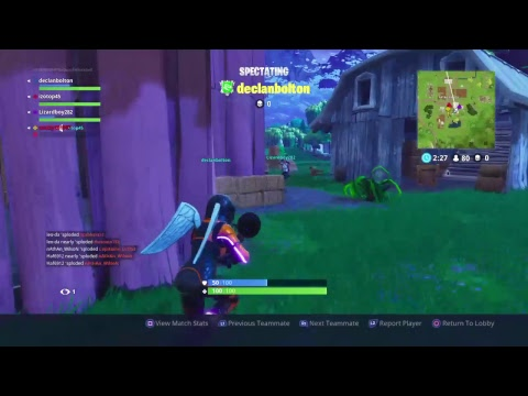 Fortnite Battle Royale - trying to get the win