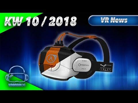 Virtual Reality News (Wochenrückblick KW10/18) [VR Games][VR Hardware][Vive][Rift][Pimax][WMR][PSVR]