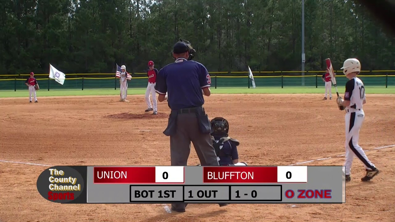 2019 Dixie Youth Ozone State Tournament Bluffton v Union 071319