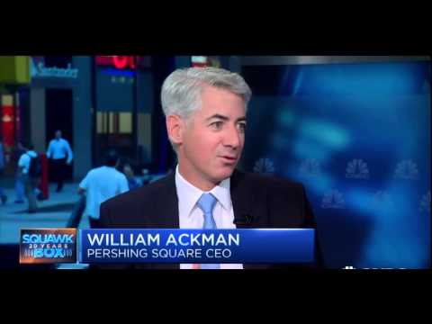 Bill Ackman Talks About Short Sellers & Stock Market