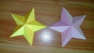 Paper star - origami || कागज का स्टार कैसे बनाये |