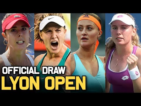 Lyon Open 2021 | WTA Draw Preview | Tennis News