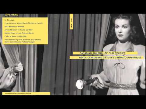 Film Studies, Mel Hoppenheim School of Cinema, Concordia University, Montreal