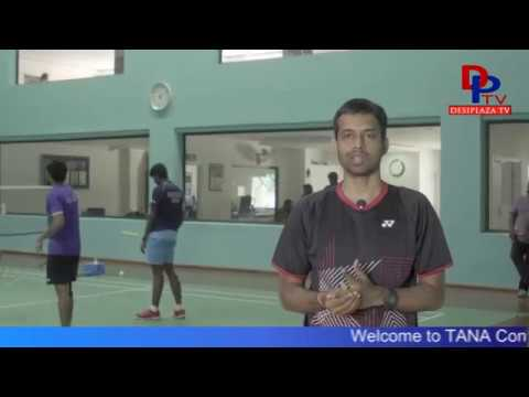 Gopi Chand - Badminton Coach Invites every one to TANA Conference 2017